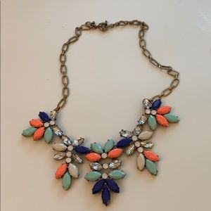 J.Crew Colorful Statement Necklace